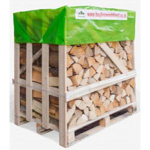 1.25M Flexi Crate – Kiln Dried Mixed Logs