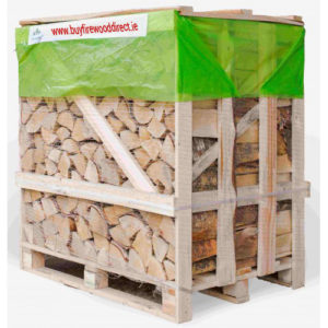 1.25M Flexi Crate – Kiln Dried Birch Logs