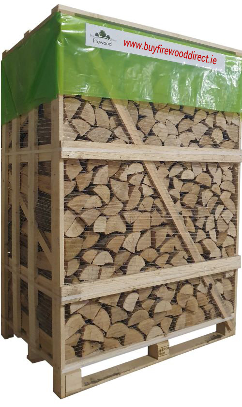 Large Crate – Kiln Dried Oak Logs